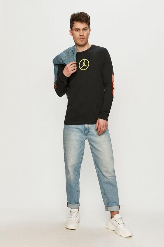 Jordan - Tričko s dlouhým rukávem černá