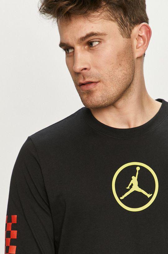 černá Jordan - Tričko s dlouhým rukávem