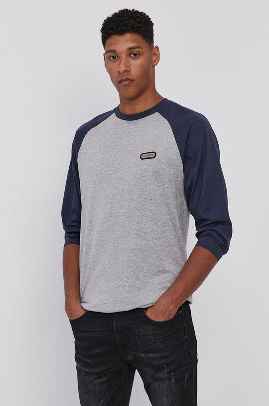 sivá Rip Curl - Tričko s dlhým rukávom Pánsky