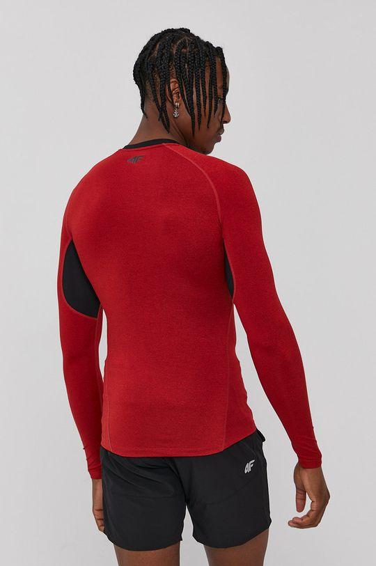 4F - Longsleeve ostry czerwony