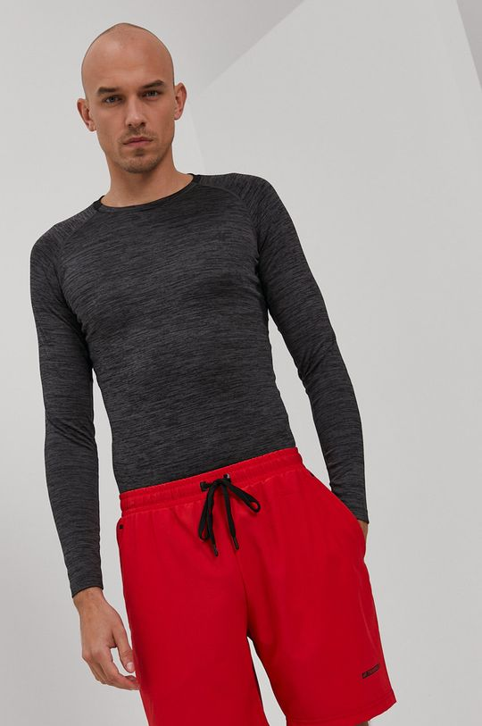 sivá 4F - Tričko s dlhým rukávom Pánsky