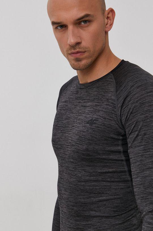 sivá 4F - Tričko s dlhým rukávom