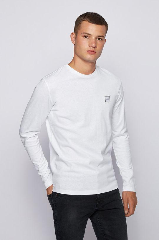 biela Boss - Tričko s dlhým rukávom Boss Casual Pánsky