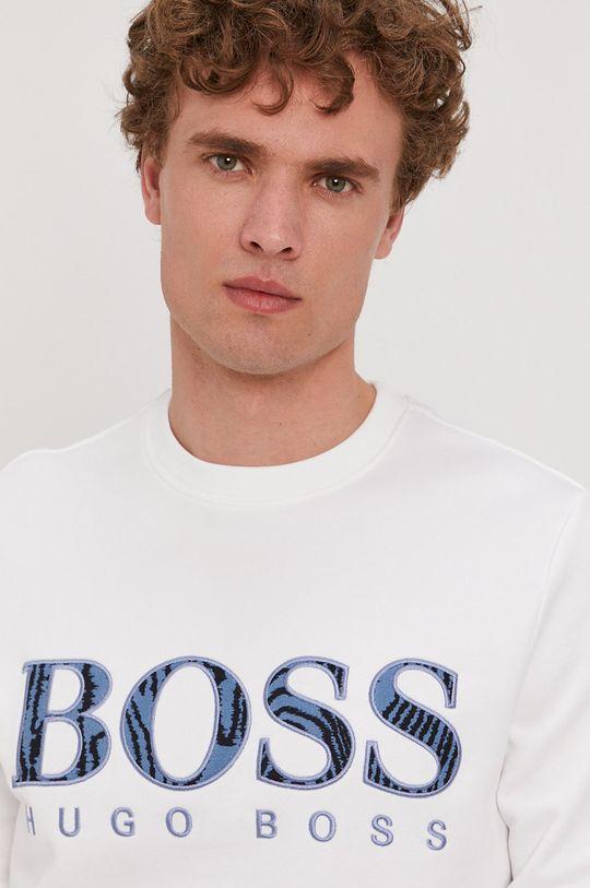 Boss - Bluza bawełniana Boss Casual Męski