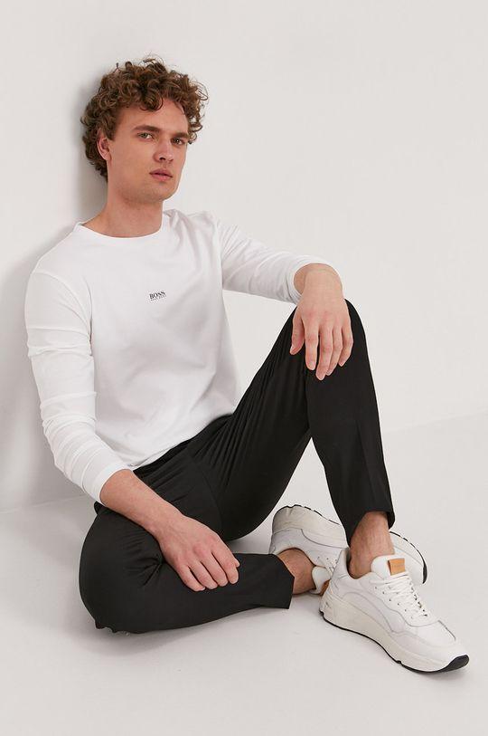 bílá Boss - Tričko s dlouhým rukávem Boss Casual