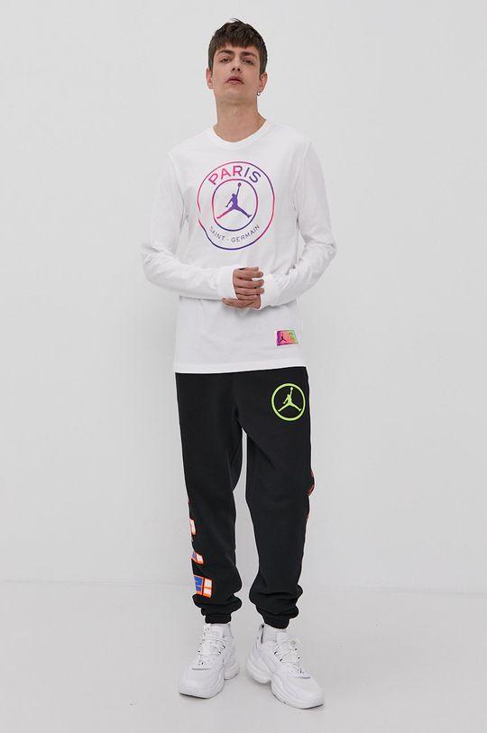 Jordan - Tričko s dlouhým rukávem bílá