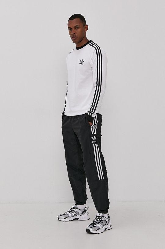 bílá adidas Originals - Tričko s dlouhým rukávem