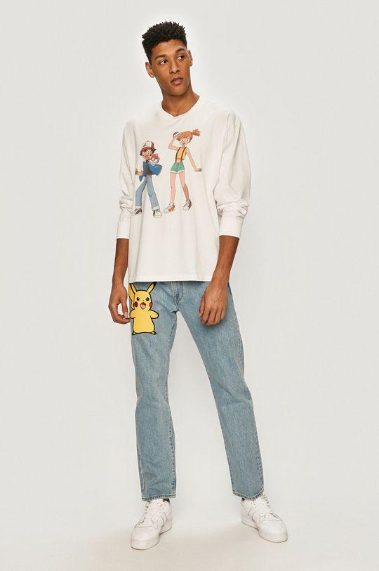 Levi's - Tričko s dlouhým rukávem x Pokemon  100% Bavlna