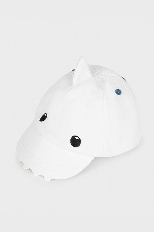 biela Mayoral Newborn - Detská čiapka Chlapčenský