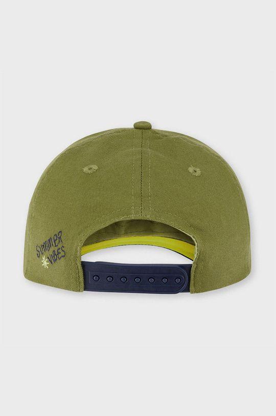 Mayoral - Detská čiapka svetlá olivová