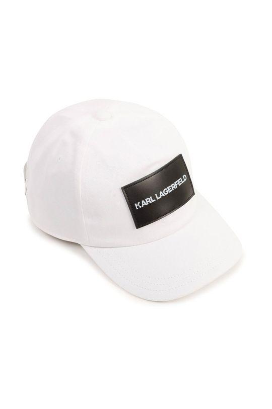 bílá Karl Lagerfeld - Kšiltovka Chlapecký