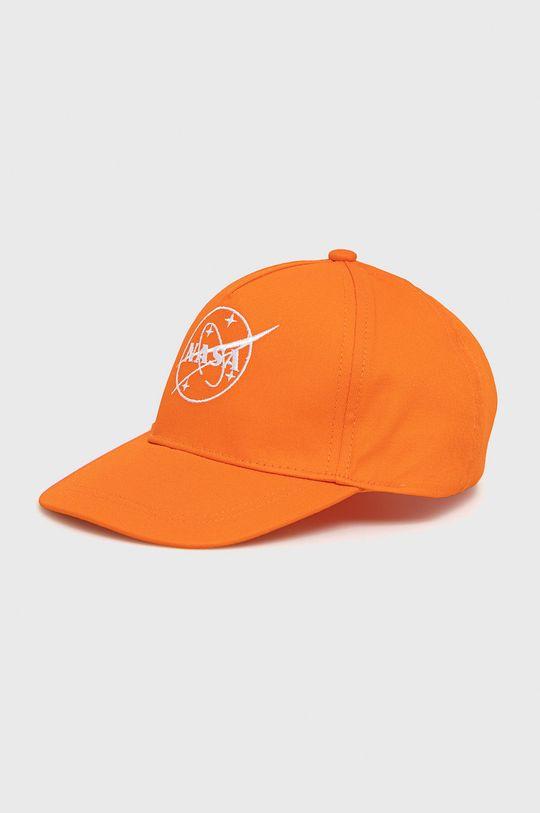 pomarańczowy Name it - Czapka dziecięca Chłopięcy