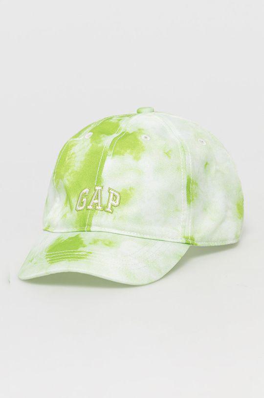 żółto - zielony GAP - Czapka dziecięca Chłopięcy
