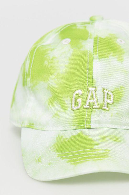 GAP - Czapka dziecięca żółto - zielony