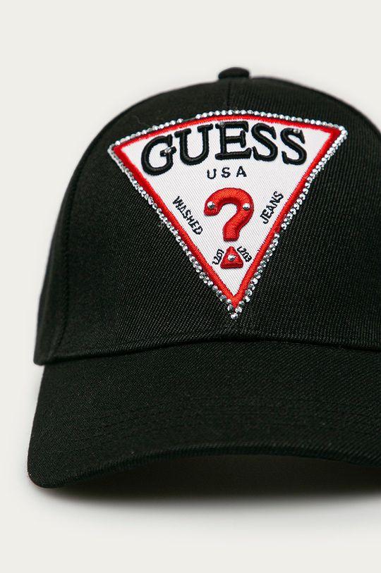 Guess - Czapka czarny