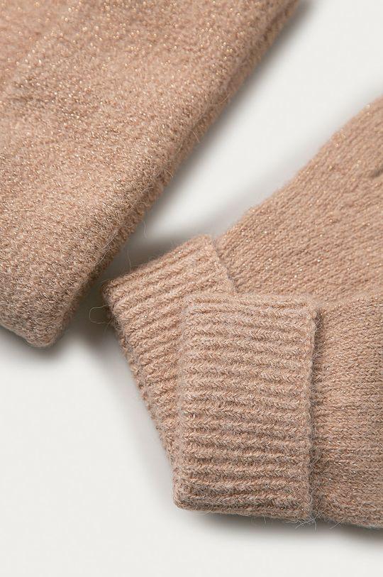 béžová Only - Čepice a rukavice