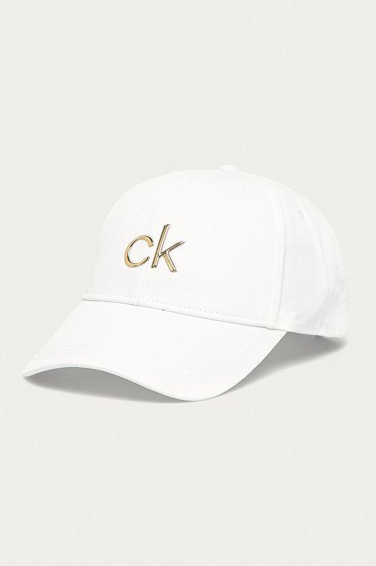 biały Calvin Klein - Czapka Damski