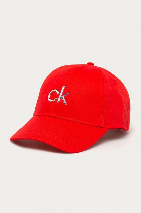 czerwony Calvin Klein - Czapka Damski