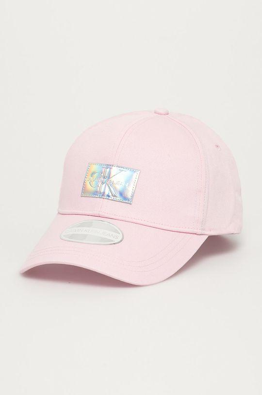 pastelowy różowy Calvin Klein Jeans - Czapka Damski