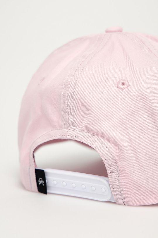 Calvin Klein Jeans - Czapka pastelowy różowy
