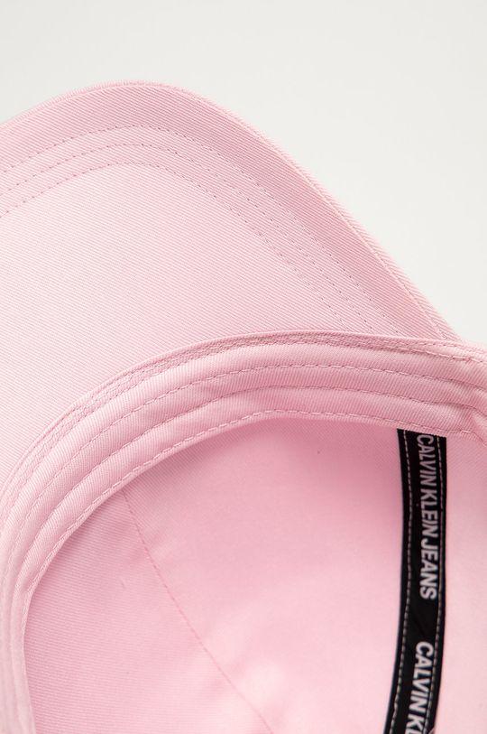 pastelowy różowy Calvin Klein Jeans - Czapka