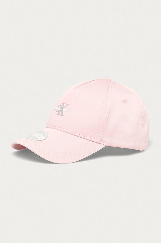 pastelově růžová Calvin Klein Jeans - Čepice Dámský