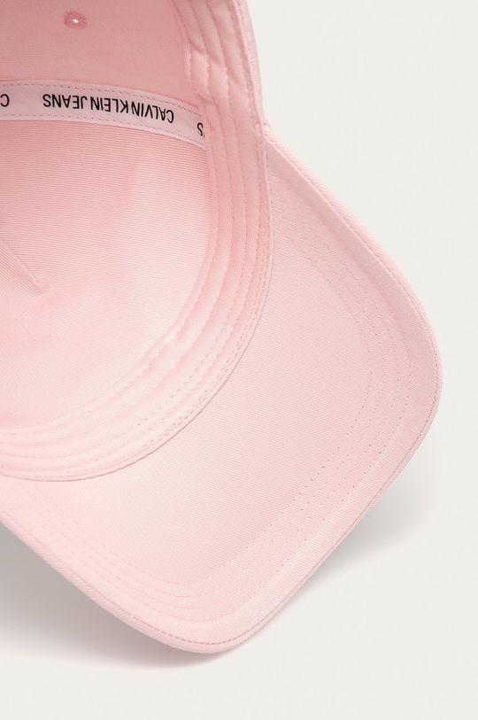 pastelově růžová Calvin Klein Jeans - Čepice