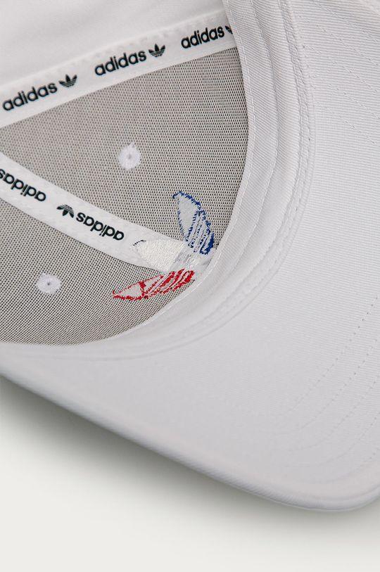 biały adidas Originals - Czapka