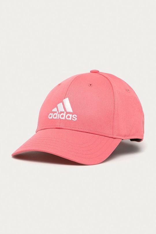 różowy adidas Performance - Czapka Damski