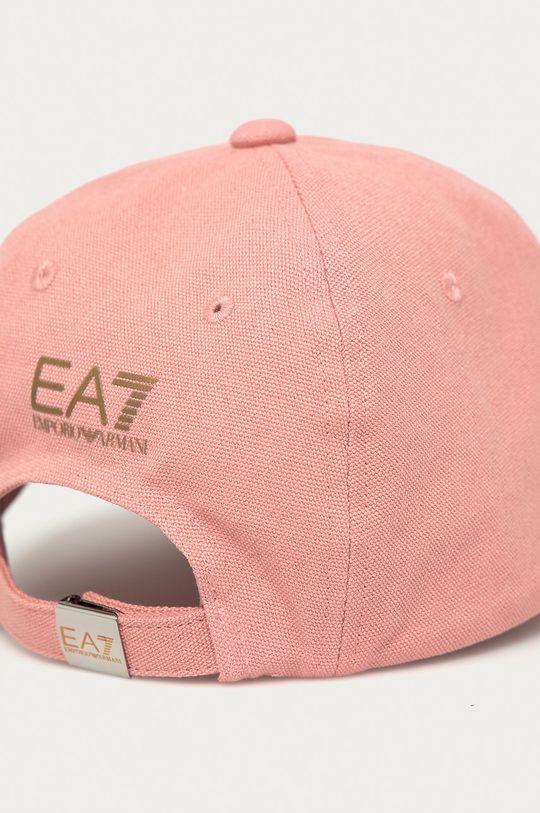 EA7 Emporio Armani - Čepice růžová