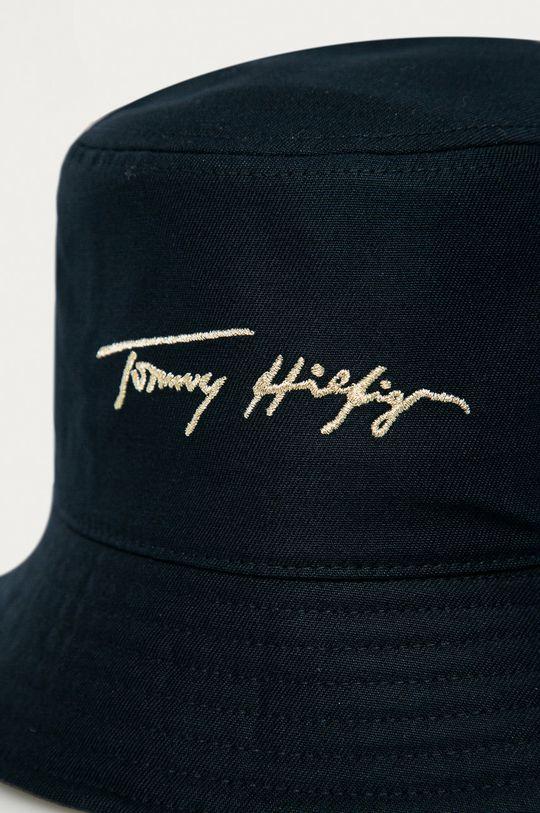 Tommy Hilfiger - Klobúk tmavomodrá