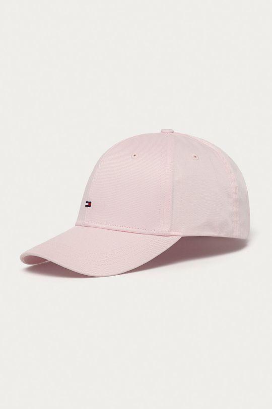 pastelově růžová Tommy Hilfiger - Čepice Dámský
