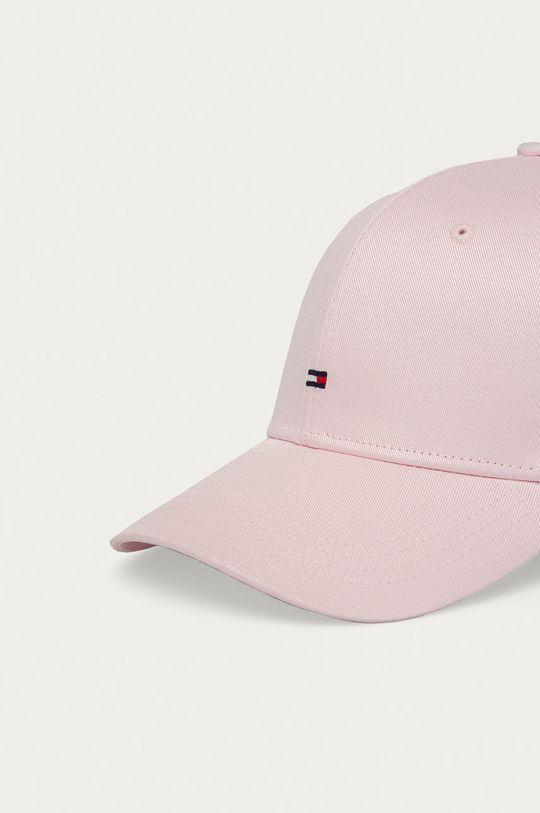 Tommy Hilfiger - Čepice pastelově růžová