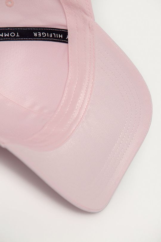 pastelowy różowy Tommy Hilfiger - Czapka