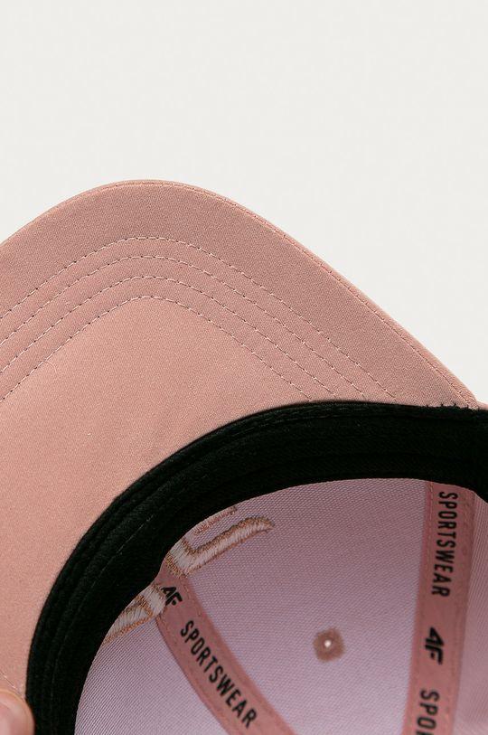 pastelově růžová 4F - Čepice
