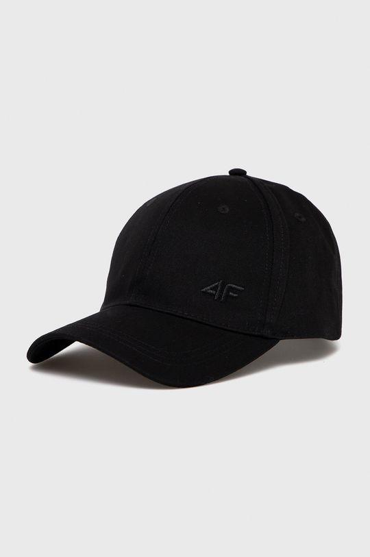 czarny 4F - Czapka Damski
