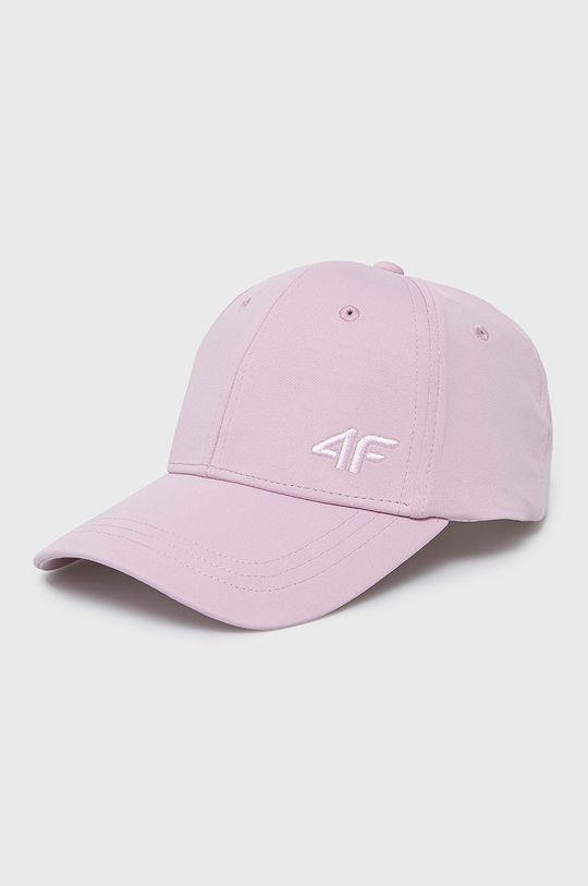 różowy 4F - Czapka Damski