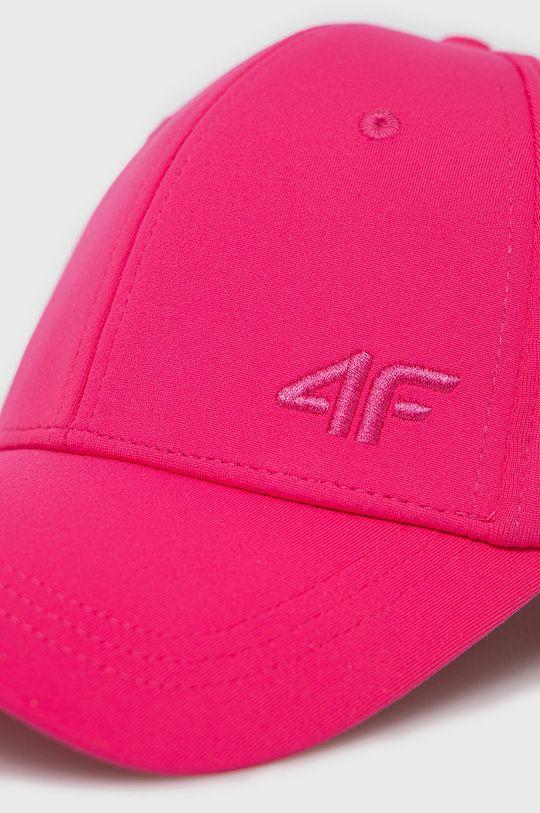 4F - Czapka fuksja