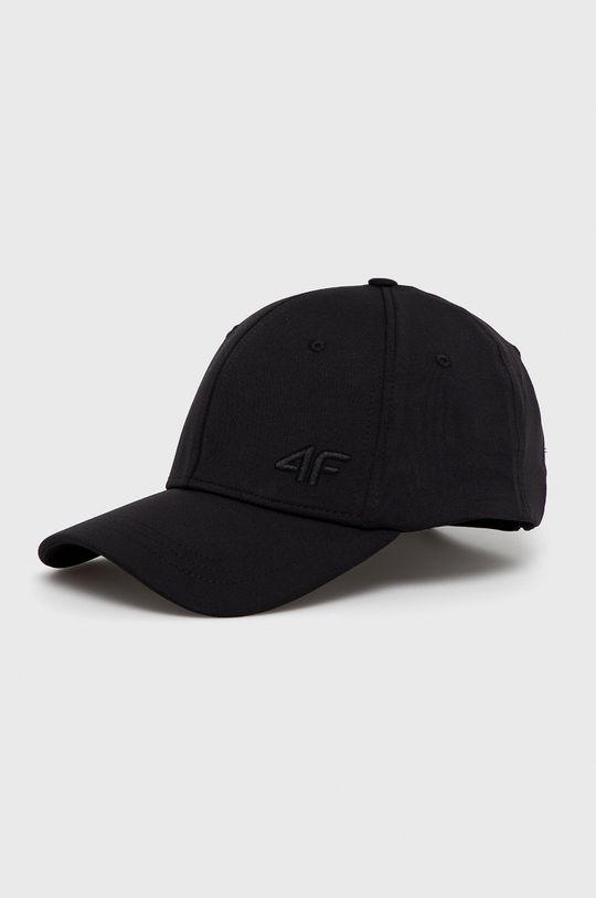 čierna 4F - Čiapka Dámsky