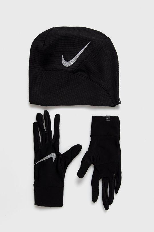 čierna Nike - Čiapka a rukavice Dámsky