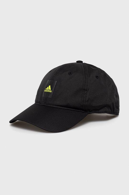 czarny adidas - Czapka Damski