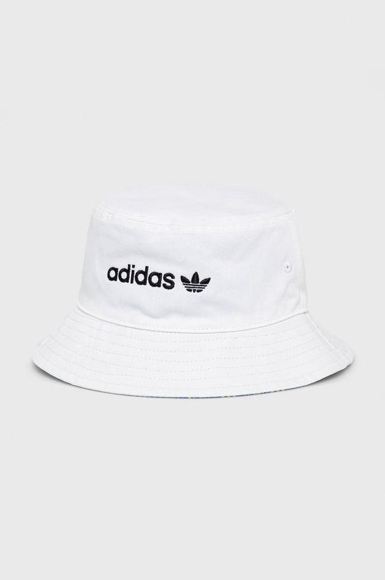 biały adidas Originals - Kapelusz Damski