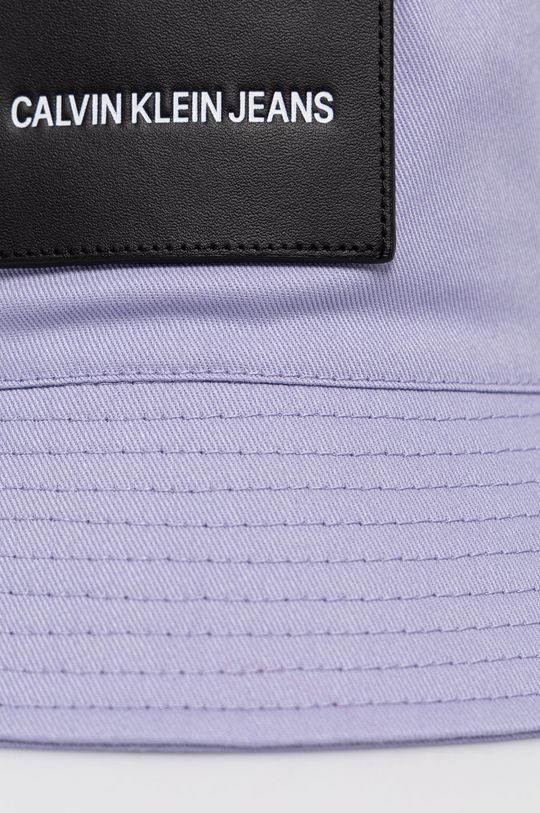 Calvin Klein Jeans - Kapelusz lawendowy