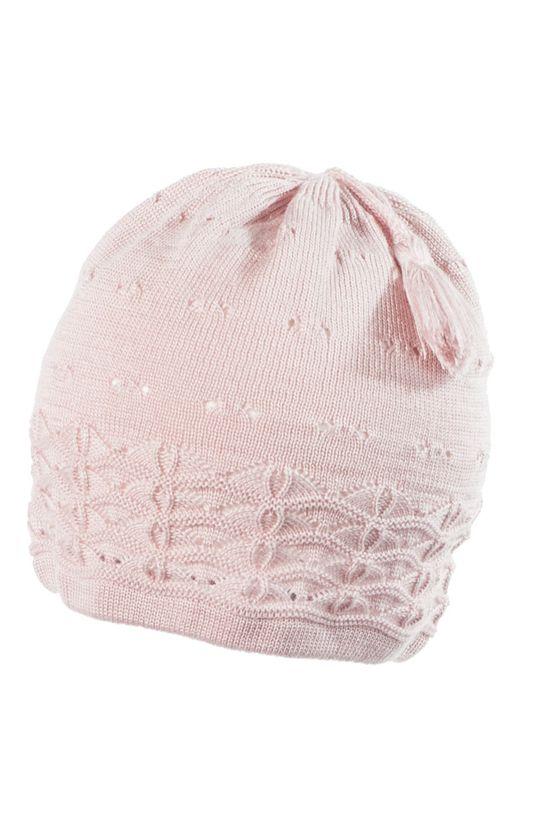 pastelově růžová Jamiks - Dětska čepice Dívčí
