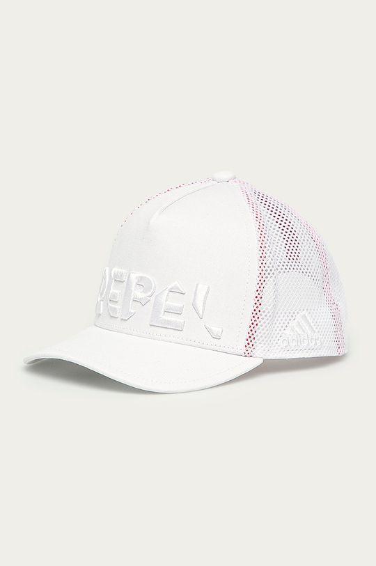 biela adidas Performance - Detská čiapka Dievčenský