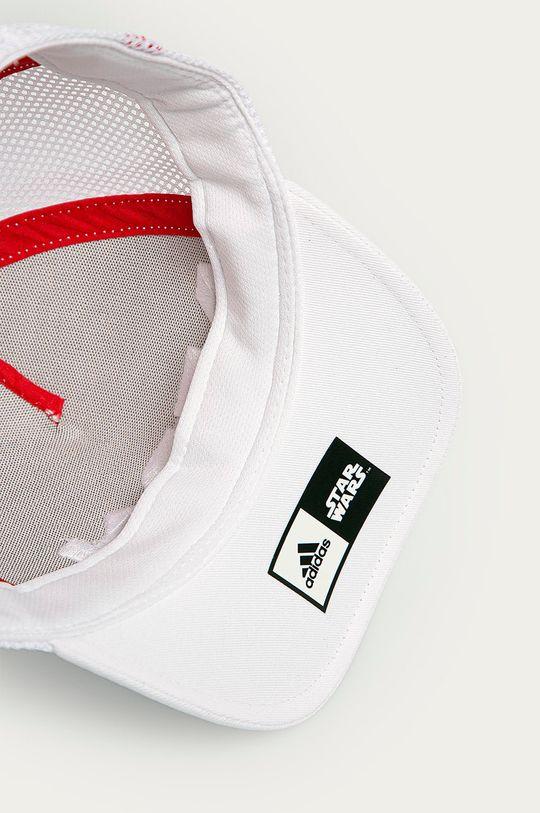 biela adidas Performance - Detská čiapka