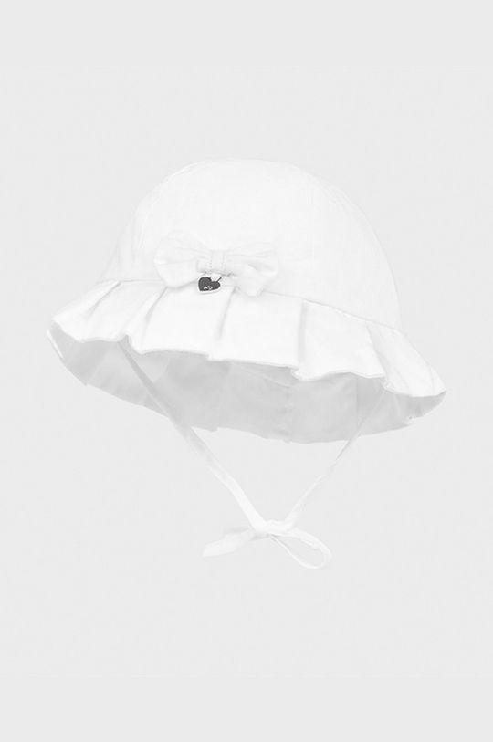 biela Mayoral Newborn - Detský klobúk Dievčenský