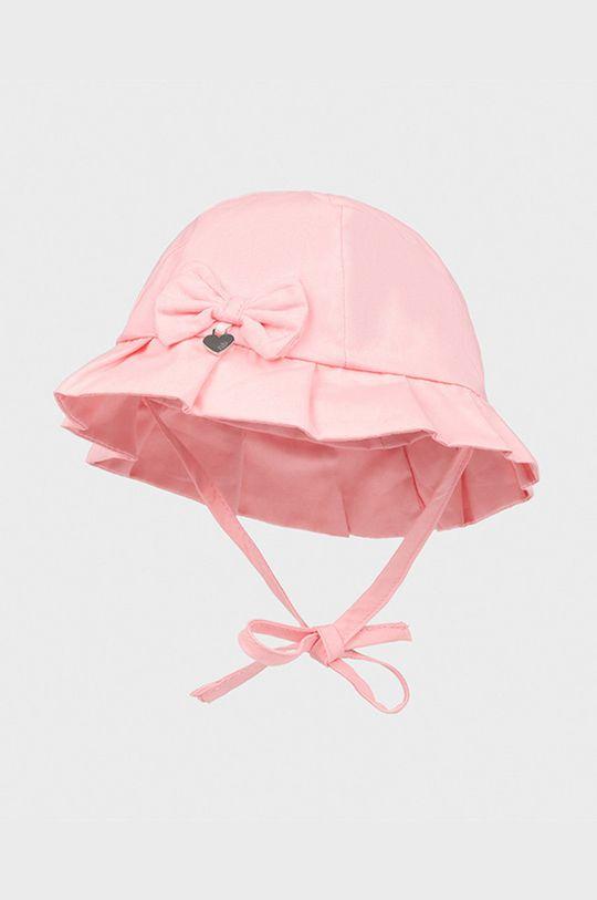 ružová Mayoral Newborn - Detský klobúk Dievčenský