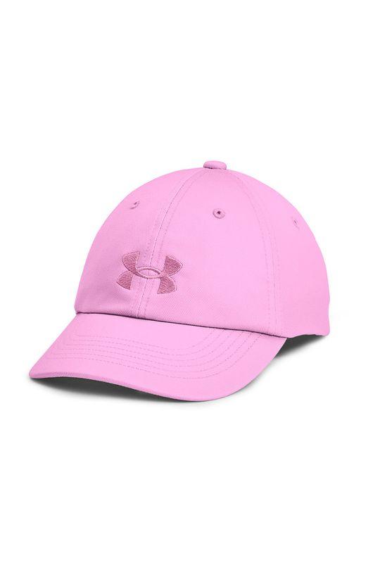 рожевий Under Armour - Дитяча Кепка Для дівчаток