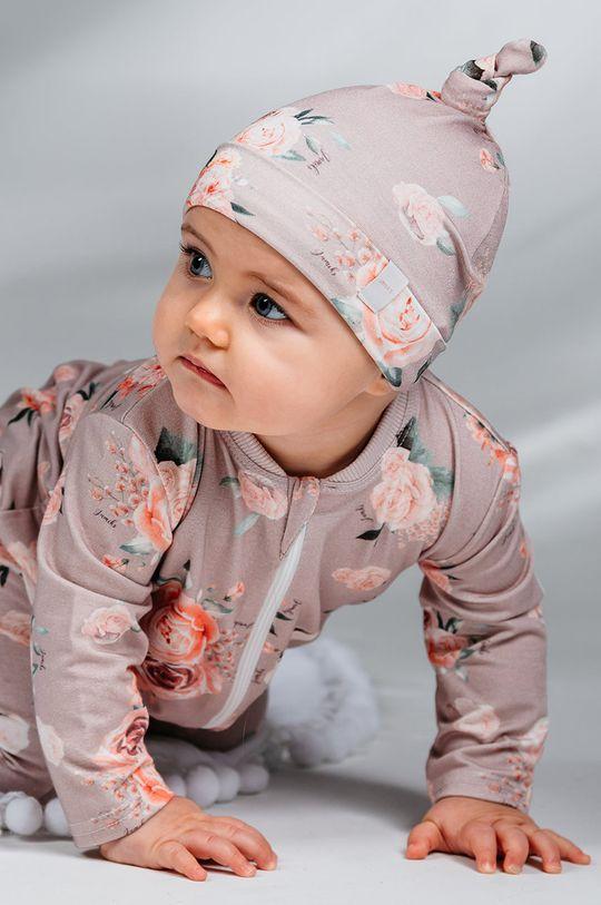 tmavě fialová Jamiks - Dětska čepice Cloud Dívčí